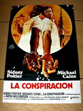 THE WILBY CONSPIRACY Original Vintage Movie Poster MICHAEL CAINE SIDNEY POITIER