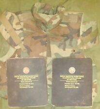 CAMO BALLISTIC KEVLAR VEST BODY ARMOR PBB MD-99A1 LEVEL 3A WITH 2 PLATES XXL