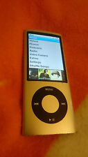 Apple Ipod Nano 5th Generación Plateado (8 GB), Buen Estado! leve culpa!