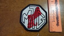 VINTAGE M T G AUTOMOBILE CLUB PATCH CHEVY FORD CHRYSLER MUSTANG  PATCH  BX 4 #6