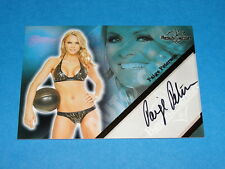 2011 Benchwarmer PAIGE PETERSON Gold Foil Autograph The Hot Chick - SCRUBS