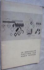La sensibilité plastique par Nadir Afonso - 1958 MONDRIAN HERBIN BLOC VASARELY