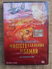 Maciste e la regina di Samar - A. Steel, di G. Gentilomo - DVD nuovo sigillato