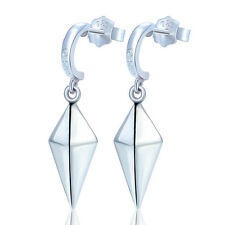1Pair Silver Women Drop Earrings Jewelry Anime Fairy Tail Erza Eardrop