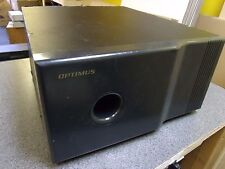 "Optimus SWS-502 10"" Subwoofer Speaker 70/140W Radio Shack"