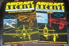 WWII - Modeling Aircraft Archive - Fighters of world war two - Vol. I e II 1988