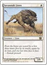 SAVANNAH LIONS Eighth Edition MTG White Creature — Cat RARE