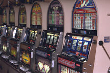 668065 Slot Machines A4 Photo Print