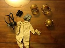 Vtg Hasbro Japan 1960's GI Joe Action Sailor Deep Sea Diver Suit w/Accessories