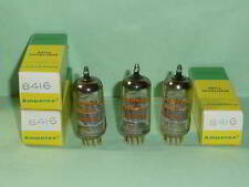 Amperex PQ 8416 (6DJ8) Tubes, Matched Trio, Tested, NOS, NIB, Matched Codes