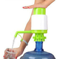 Hot 5 Gallon Bottled Drinking Water Hand Press Manual Pump Dispenser HF
