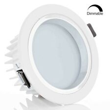 Dimmable 12W 4-Inch LED Recessed Light, 90W Halogen Equivalent, Warm White