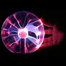 "6"" USB Touch Sensitive Plasma Ball Globe Constantly Disco Lighting Lamp Dec"