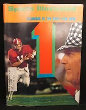 Sports Illustrated December 3, 1973 Alabama is the Best-For Noe NCAA Football