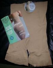 New Scala Anti Cellulite Bio Fir Seamless High Waisted Slimming Panty. Nude. M.