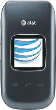 Pantech P2030 Breeze III 3 Flip Cell Phone AT&T No Contract Camera GSM GPS Gray