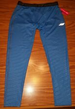 NWT Men's SKETCHERS PERFORMANCE Compession Athletic Tights Baselayer BLUE Sz XL