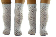 "2 Pair White Pattern Socks made for 18"" American Girl Doll Clothes"