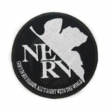 Rebuild of Evangelion NERV Phosphorescent Removable Badge Patch Licensed Cospa