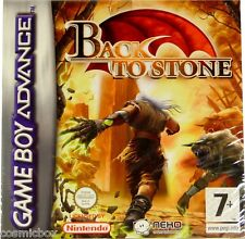 BACK to STONE jeu video de plateforme console Game Boy Advance Nintendo DS NEUF