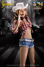 SW Our world 1/6th Jessica Fox Female Cow Girl Suits Set Action Figure Box-set