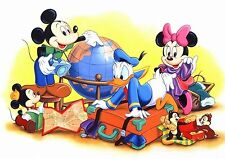 MICKEY AND MINNIE A3 GLOSSY POSTER