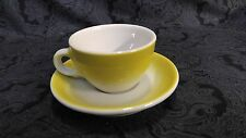 Lemon Sterling Vitrified China Coffee / Tea Cup and Saucer Set