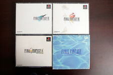 Playstation PS1 Final Fantasy Collection 4 5 6 7 8 9 Japan import game US Seller