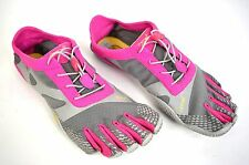 Vibram Fivefingers Running Shoes 14W0704 Evo Grey Pink Womens