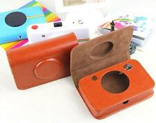 Leather  Case Bag For Polaroid Snap Instant Digital Camera