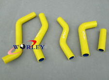 For Suzuki RMZ250/RM2 250 2007 2008 2009 silicone radiator hose YELLOW