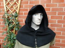 Medieval Hood - (wool) Re-enactment, LARP, Costume, Theatre