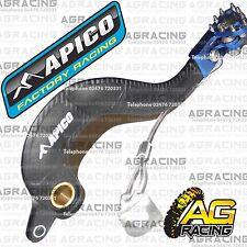 Apico Negro Azul Trasera Pedal De Freno De Palanca Para Yamaha Wr 450f 2007-2011 Motocross