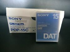 Sony PDP-15C Digital Audio Tape 9pcs Sealed Tapes NEW