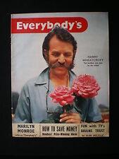 Everybody's magazine - July 7th 1956   Harry Wheatcroft, Marilyn Monroe