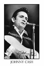 JOHNNY CASH AUTOGRAPH SIGNED PHOTO POSTER - GREAT PIECE OF MEMORABILIA