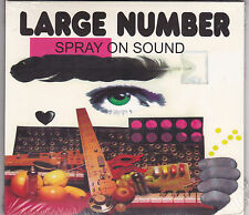 Large Number - Spray On Sound - CD - (Brand New Sealed)
