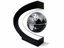 C Shape Magnetic Levitation Floating Globe With Light Desktop Display New