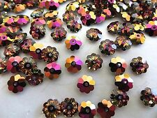 12 Crystal Volcano Swarovski Margarita Beads 3700 6mm