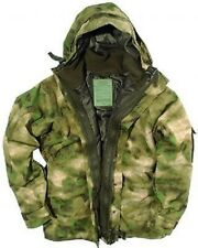 US ECWCS Cold Wet Weather Nässeschutz Parka Army w Fleece Jacke MILTACS FG Small