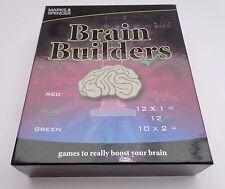 Marks and Spencer M&S cervello costruttori GAME-GIOCO DI MEMORIA DELLA FAMIGLIA