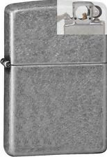 Zippo 28973 antique silver plated Lighter with PIPE INSERT PL