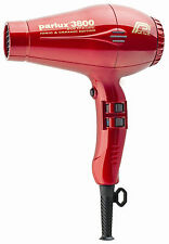 Parlux 3800 Eco Friendly Ionic & Ceramic Dryer – Red