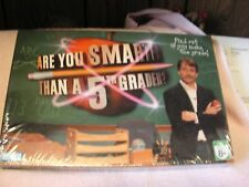 Are you smarter than a 5th grader game 2007 new unopened Hasbro trivia family