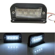 12/24V LED Rear Number License Plate Light Lamp Truck Trailer Caravan Waterproof