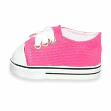 "Doll Clothes Pink Sneakers  Shoes  Fits American Girl 18"" Pink Butterfly Closet"
