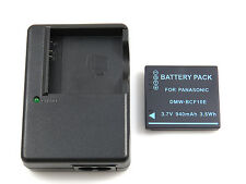 Charger and Battery for Panasonic LUMIX DMC-TS1 DMC-TS2 DMC-TS3 DMC-TS4 DMC-F2K