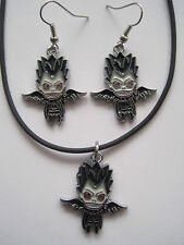 Death Note Anime / Manga Earrings & Necklace Set WINNER'S CHOICE OF ONE SET!