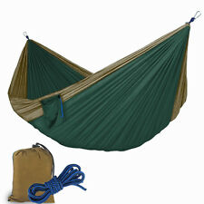 Double Two Persoon Portable Parachute Nylon Fabric Swing Bed Camping Hammock