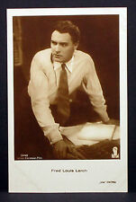 Fred Louis Lerch - Actor Movie Photo - Foto Autogramm-Karte AK (Lot-Z-1949)